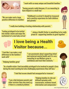 Why I love being a Health Visitor.